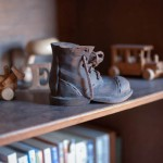 boot on a shelf