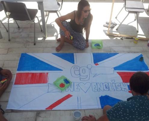 English teaching volunteers