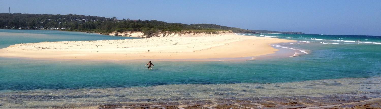 pristine beach offgird secret australia