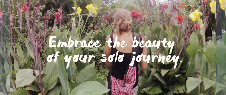 embrace beauty slow solo journey
