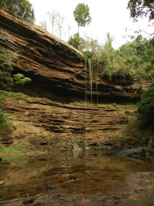 Hiking to the beautiful Boti Falls in Ghana