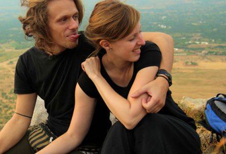 couple relationship long term travel