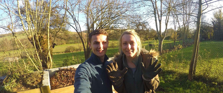 gardening volunteer travel experience