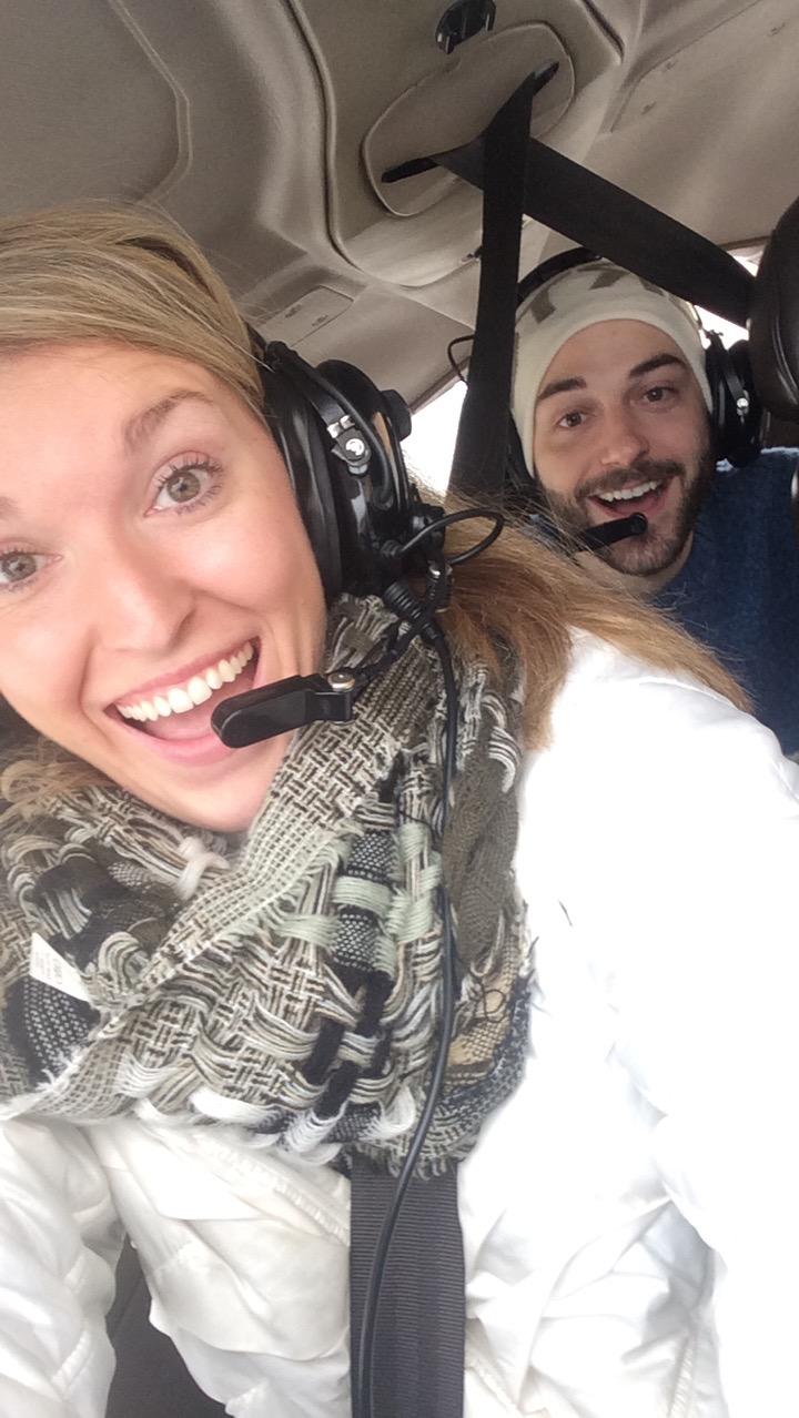 couple flight