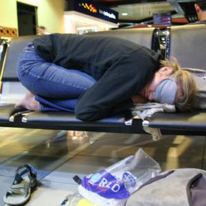 layover budget travel sleep